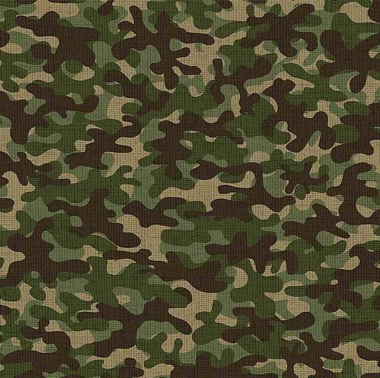 Timeless Treasures C8000 Multi - Camo Camouflage Blender