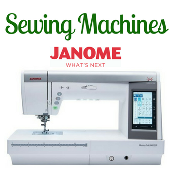 Janome Sewing Machines, Embroidery Machine, Longarm Quilting Machines, Sergers