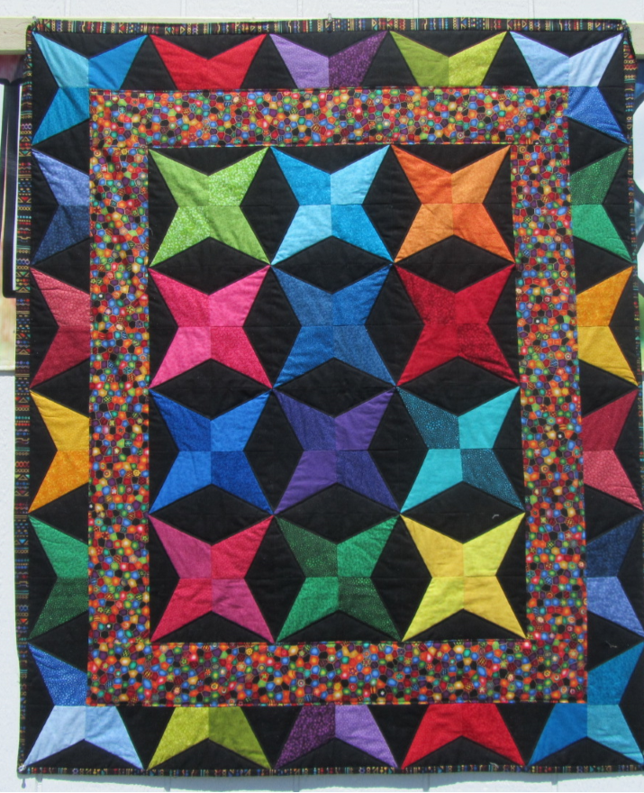 Quilt for Sale:  Charmed Stars