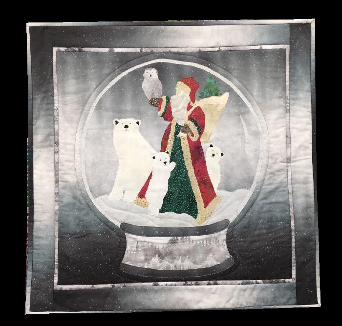 Christmas Around the Globe  - Wall Hanging Kit - design by McKenna Ryan