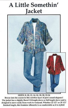 A Little Somethin' Jacket - Pattern to create a casual elegant jacket