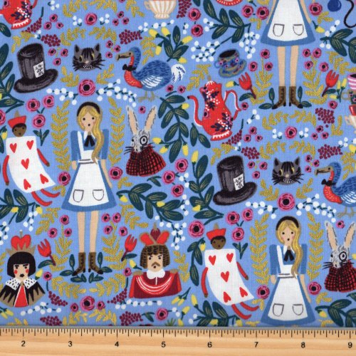 Cotton + Steel Rifle Paper Co Wonderland 8013 2