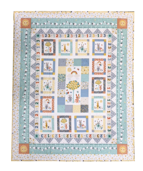 Counting Sheep - Children's PANEL Quilt Kit