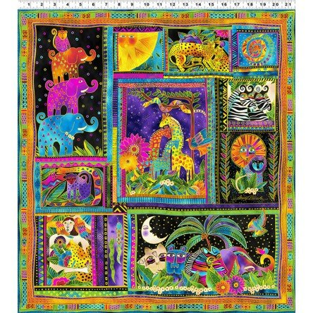 Clothworks Mythical Jungle Y2134-3M PANEL