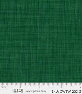 P&B Color Weave 108in Wide Back CWEW203G Green