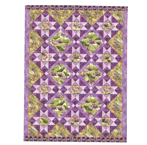 Quilt Kit Dazzling Dragonflies Featuring Dance Of The