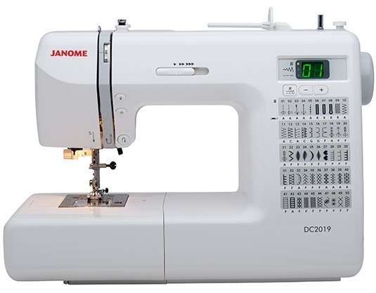 NEW! Janome DC 2019 Sewing Quilting Machine