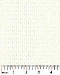 Benartex - Dimity Dot 710-50 GLACIER FROST