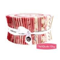 Andover - Little Sweetheart Jelly Roll 2.5 strips of assorted fabrics