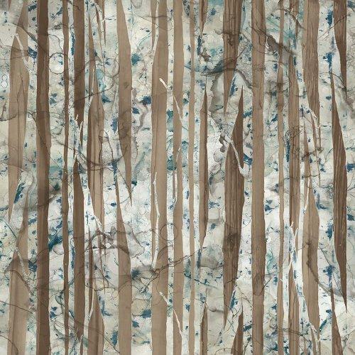 Northcott WHISPERING PINES DP 23754 36 Birch Trees - Digital