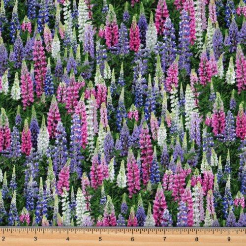 Elizabeth's Studio | Landscape Medley 539 Multi - Lupines