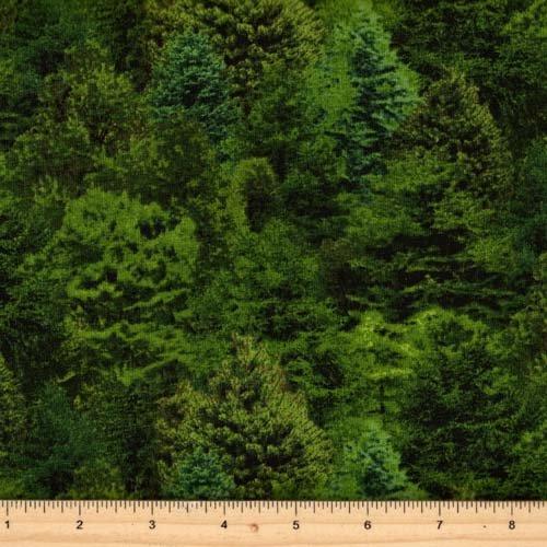 Elizabeth's Studio Landscape Medley 176-Green