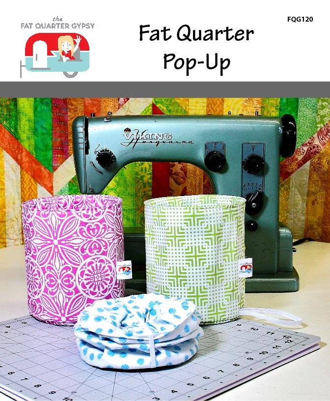 Fat Quarter Pop-Up Pattern by The Fat Quarter Gypsy
