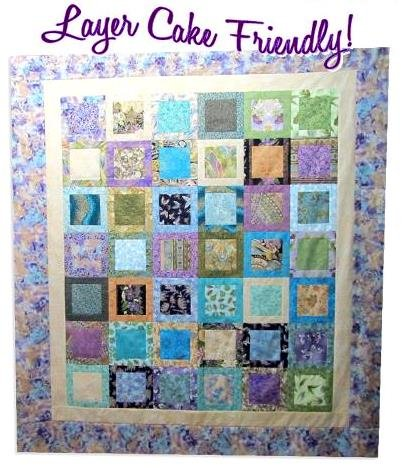 The Fabric Garden - I've Been Framed  Quilt Pattern