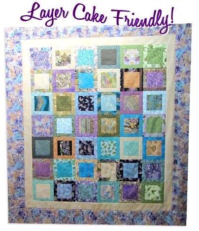 The Fabric Garden - I've Been Framed  Quilt Pattern
