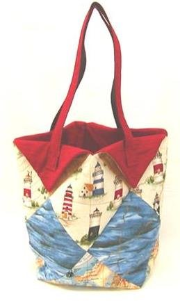 The Fabric Garden - Fat Quarter Tote Pattern
