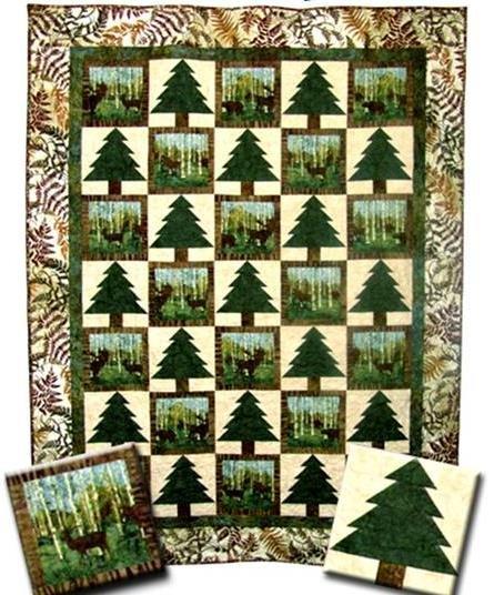 The Fabric Garden - Tamarack Trail Quilt Pattern