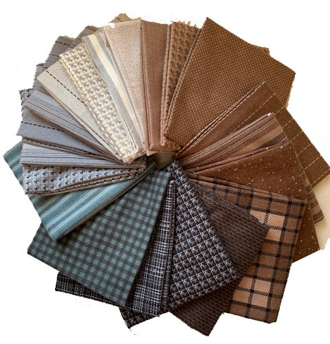 Flannel Fat Quarter Bundle - 20 pcs - Moda Farmhouse Flannels
