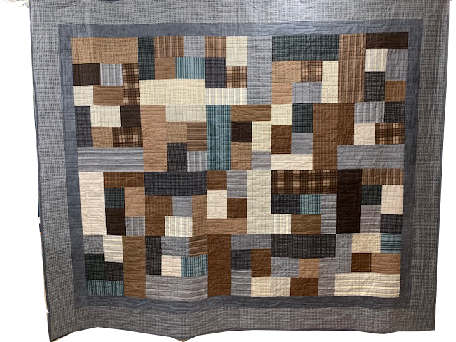 Flannel Fat Quarter Quilt Kit - featured on Facebook Live
