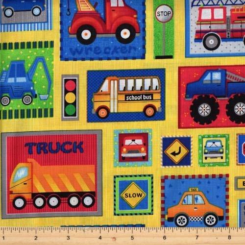 Fabri Quilt Truck Stop Car Patch 112-30351