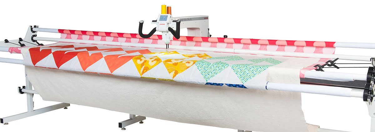 Janome Quilt Maker Pro 18 Longarm Quilting Machine