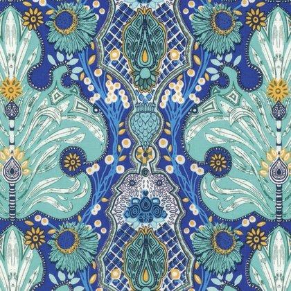 Free Spirit | Persia - Waldorf  Persian Damask PWKM023 Lapis