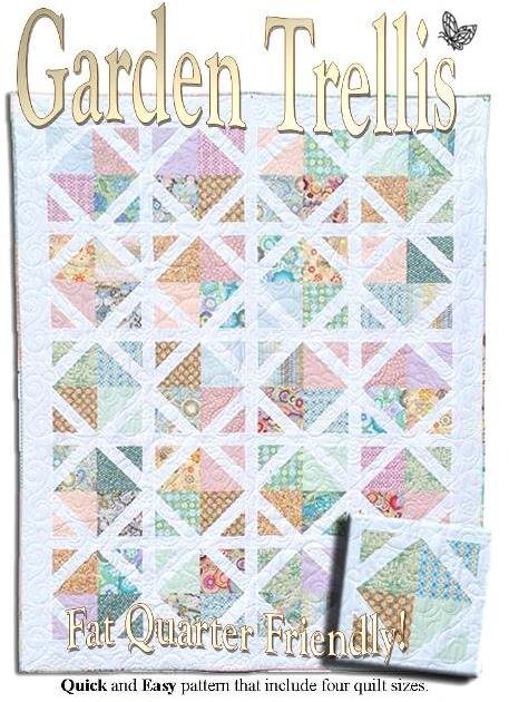 The Fabric Garden - Garden Trellis Quilt Pattern
