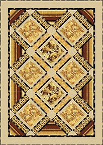 Free Pattern Sun Valley fabrics by Benartex / Kanvas - Golden Valley