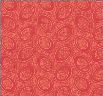 Kaffe Fassett - GP71 TERRA - Aboriginal Dot - Terracotta