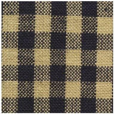 Dunroven House - Homespun H204 Navy Tie Dye - Little Square Checks