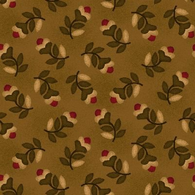 Farmstead Harvest by Kim Diehl for Henry Glass   Tossed Floral  6939 33