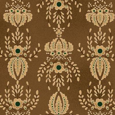 Farmstead Harvest by Kim Diehl for Henry Glass   Flocked Wallpaper 6943 33
