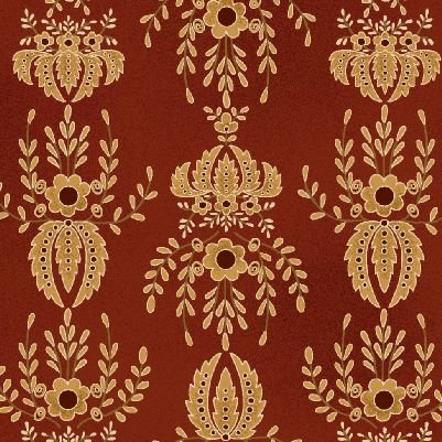 Farmstead Harvest by Kim Diehl for Henry Glass | Flocked Wallpaper 6943 88