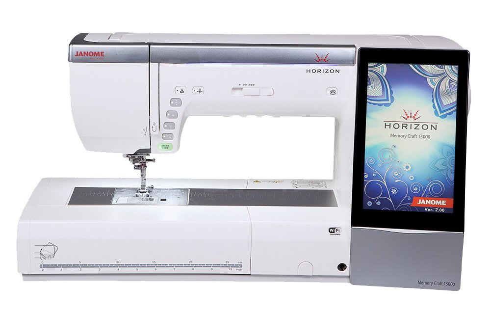 Memory Craft 15000 V2 Embroidery/Quilting/Sewing Machine : embroidery quilting sewing machine - Adamdwight.com