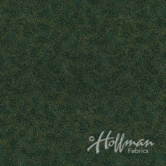 Hoffman Fabrics Brilliant Blender  G8555-60G Hunter Green/Gold