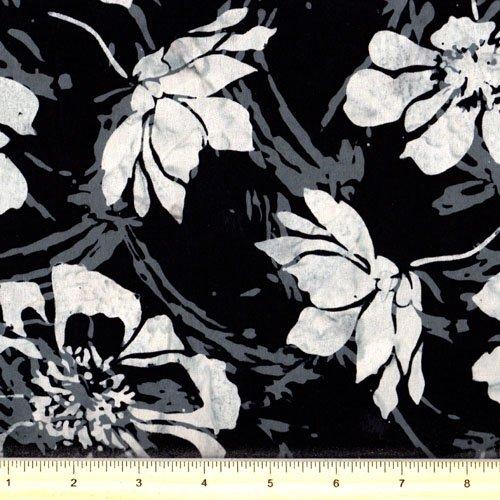Hoffman K2453-4 Black White Batik