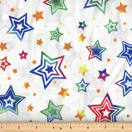 Hoffman Fabrics - Party On M4213-3 White