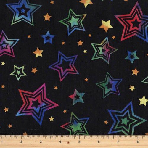 Hoffman Fabrics - Party On M4213-4 Black