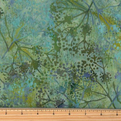Hoffman Batik Balsam Dandelions P2926 548