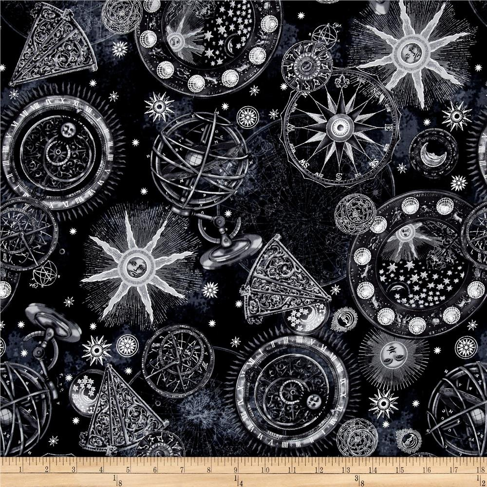 Hoffman Star Gazing Black/Silver P7563 4S