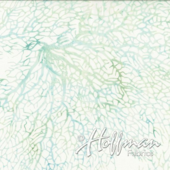 Hoffman Batik Q2166-581 Bluegrass Sea Grass