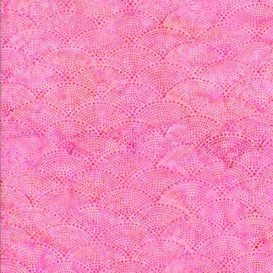 Hoffman Bali Batik - Q2190-198 Scallop Apricot