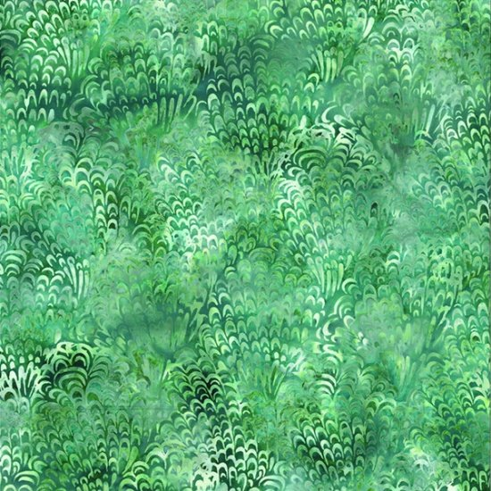 Hoffman Bali Batik - Feathers Juneau Q2196-247