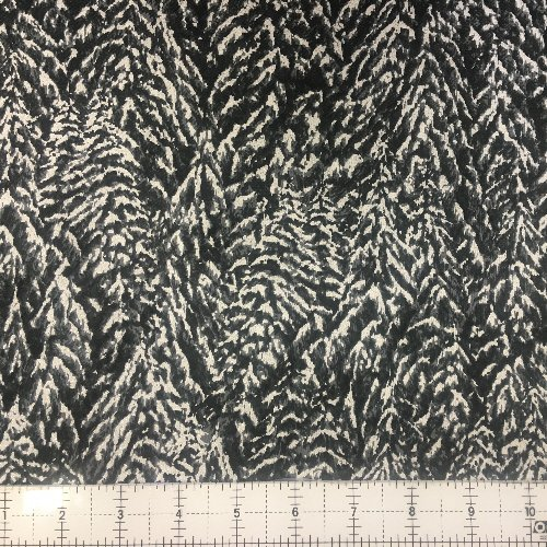 Hoffman Nocturne Slate/ Silver 7595-92S Pine Trees
