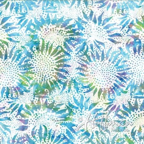 Hoffman Bali Batik 884-653 Bali Chop Sunflower Prism