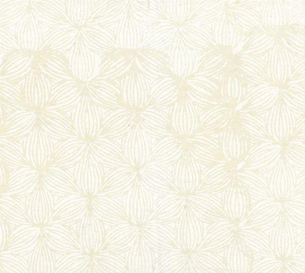 Hoffman Bali Batik - Lined Floral: Oyster Q2153-265