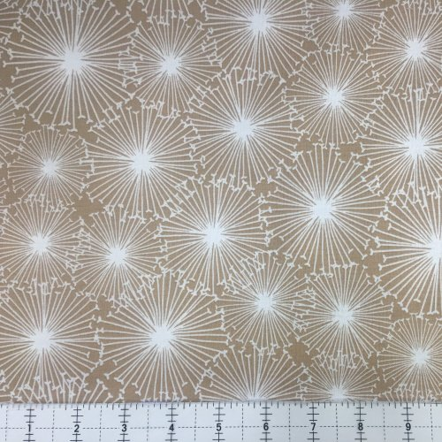 Hoffman Near and Deer Tan 4260-64 Snowflake / Dandelion Starburst