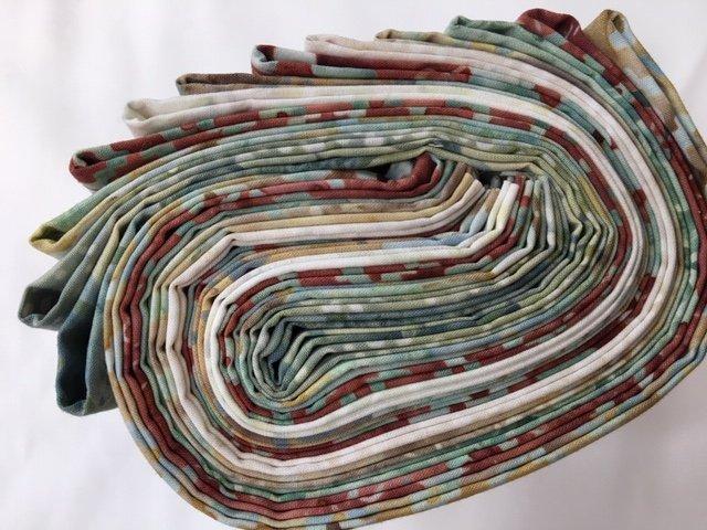 Adobe collection. Hoffman Fabrics 100/% cotton 12 fat quarters