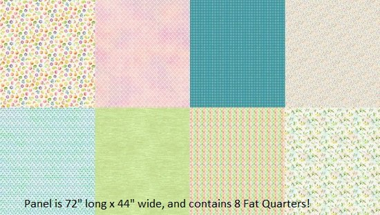 Hoffman- With A Twist - Digital Panel contains 8 Fat Quarters!  Q4476-523