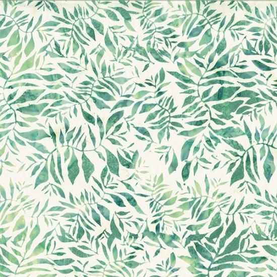 Hoffman Bali Batik R2282-145 All Over Leaf Spring